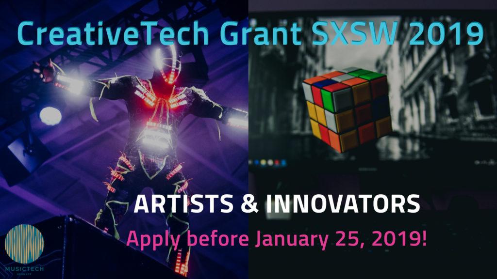 sxsw CreativeTech Grant thumbnail