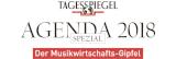 Tagesspiegel Musikwirtschaftsgipfel Logo