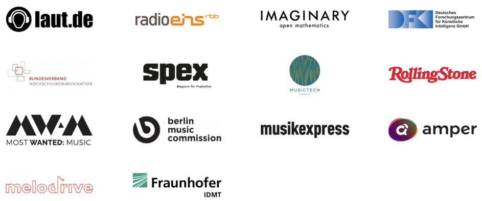 Beats & Bits KI Musik Wettbewerb Partner