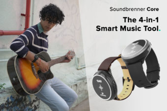 The Soundbrenner Core 4-in-1 Smart Music Tool