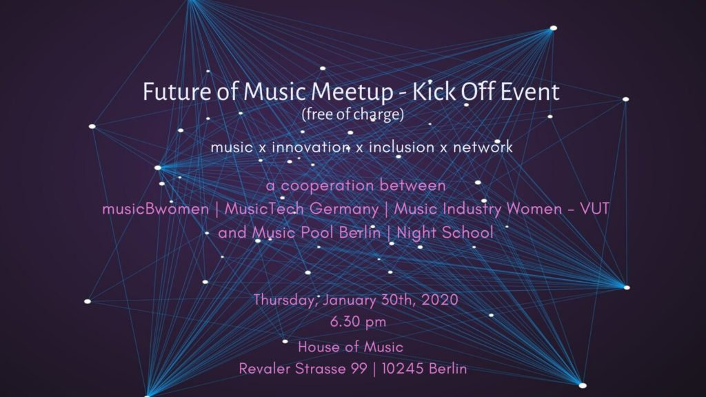 THe Future Of Music Meetup