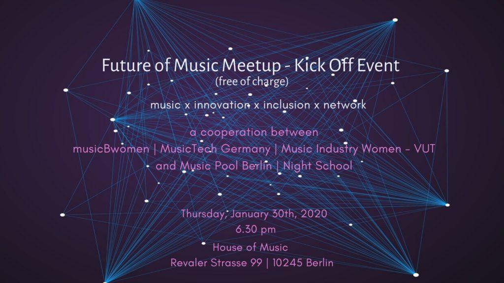 THe Future Of Music Meetup