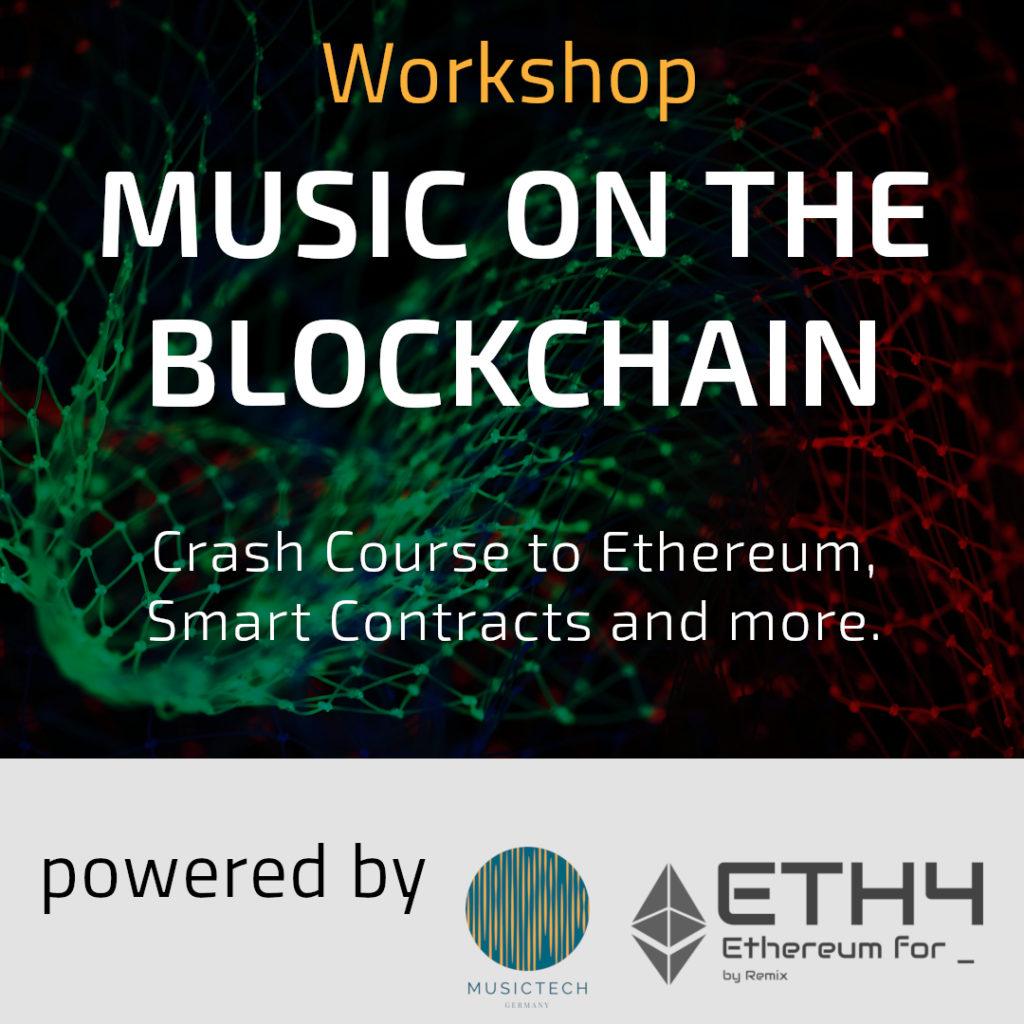 music on the blockchain workshop