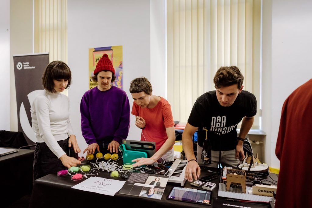 Playtronica devices team session